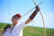 long shot compound bow